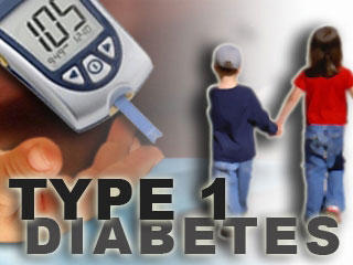 How is type 1 diabetes in children treated?