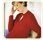 I'm 36 weeks pregnant and have hot flashes and extreme diziness. What can it be due to?