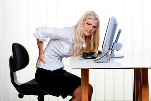 How can you ease back pain quickly and without drugs of any sort?