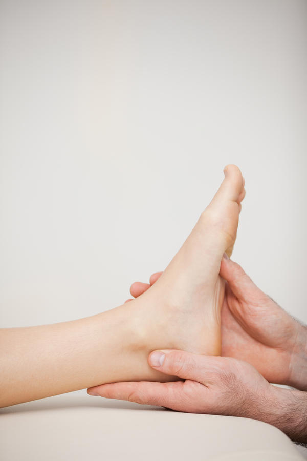 What should I do if i've been suffering from ankle pain for over a year?