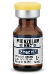 Is versed (midazolam) for wisdom teeth extraction considered general anesthetic?
