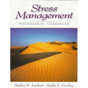 What is the definition or description of: stress management?