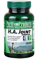 Is purity h a (hyaluronic acid) formula safe for use for people who have gout?