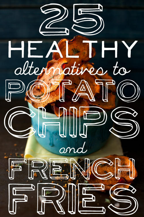 I'm addicted to potato chips are there any healthy alternatives?