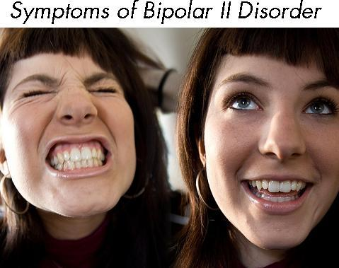 What is the definition or description of: bipolar II disorder?