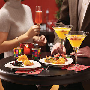 Do people dread cocktail parties because of what they do to their weight or see them as free food now?