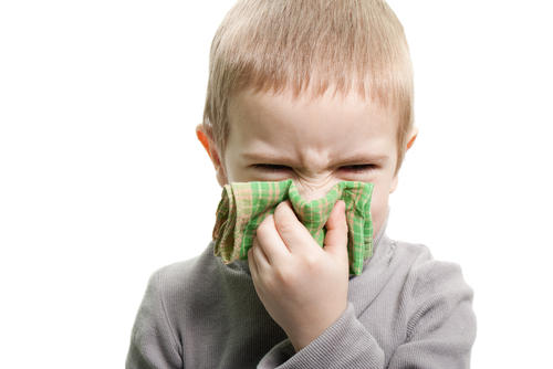 What's freat for kids under 3 with running nose cough fever?