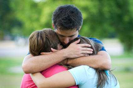 What can I do to deal with my emotional security after the death of a family member?
