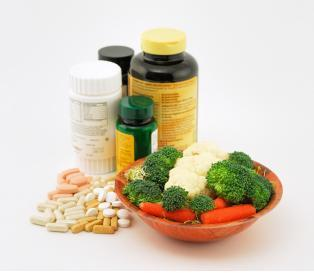 How long does it take for the body to use up vitamins when not being active?