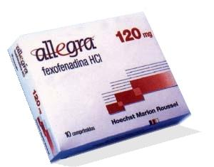 What is the definition or description of: allegra (fexofenadine) d?