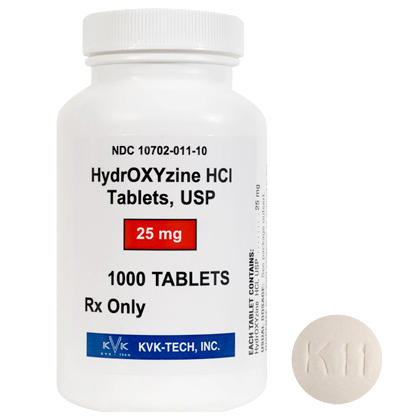 Please describe the medication: hydroxyzine?