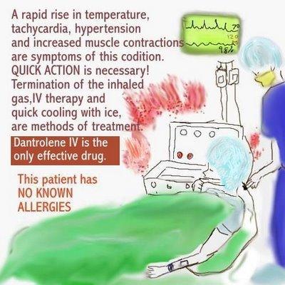 hyperpyrexia