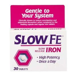 What is the lowest dose of slo-fe?