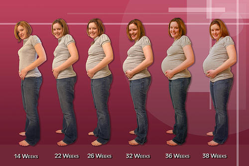 carrying low in pregnancy problems