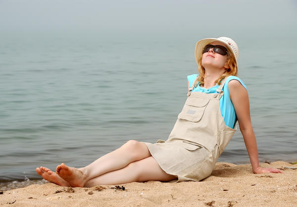 What is the definition or description of: sun protection factor?