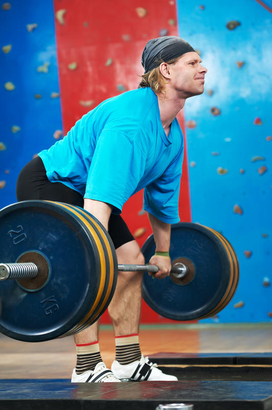 What is the difference between a hernia and a weak spot?