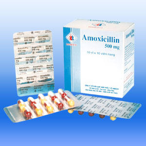 Are there any withdrawal symptoms after taking amoxicillin?
