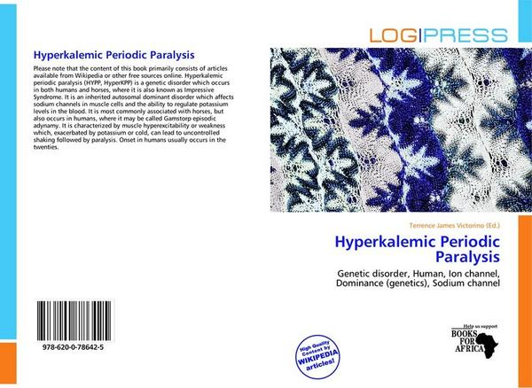 Is there any other cause of the hyperkalemic paralysis except that it is genetic?