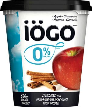 During my day ill have 100g of iogo yogurt. It says per 100g it has 18mg of surclose (splenda).Can that make me gain?I don't eat anything else splenda