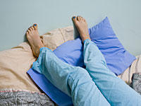 Is restless leg syndrome considered a serious condition?
