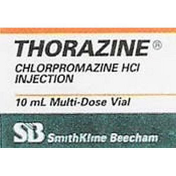 What is chlorpromazine and how does it make you feel?