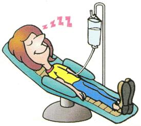 How will I feel after having the sedative for gastroscopy?