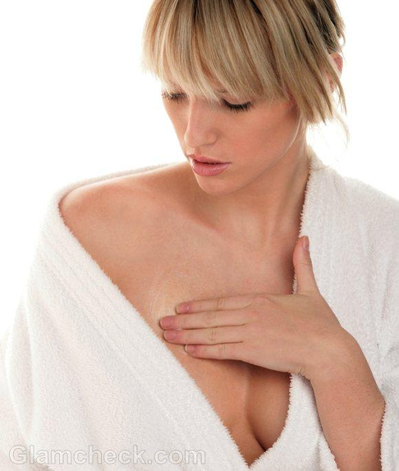 I'm 30 & had a partial hysterectomy almost 2yr ago so i don't get a period but my breasts have been tender and experiencing some itching, any idea why?