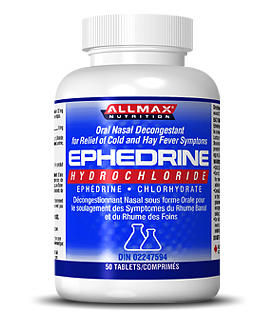 I know that ephedrine (ephedrine sulfate) is a stimulant. Is it legal in the usa?