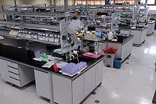 What is the definition or description of: laboratory?