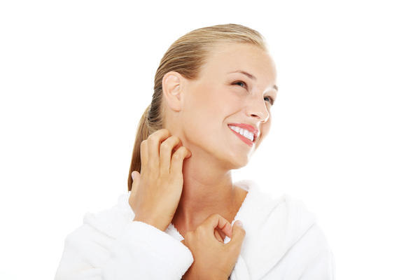 What are probables causes of weals on the neck?