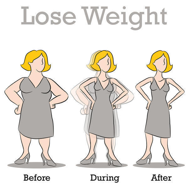 What is a simple, healthy way to lose weight?