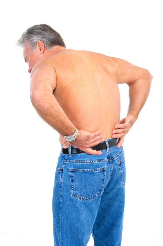 Irritable bowel symptoms - should I be able to feel it in my lower back?
