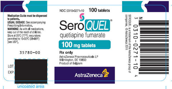 Husband going off seroquel (quetiapine) slowly started yesterday, how long to recover fully after completely off it. All exams of brain are great no damage. ?