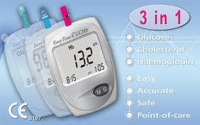 How do home use hemoglobin test meters work?