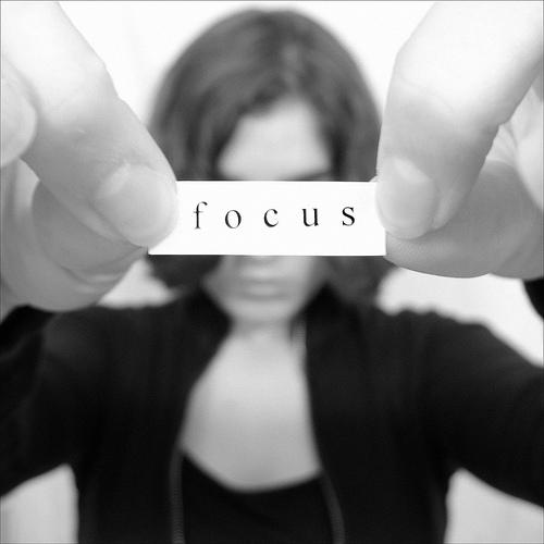 "What is the difference between ""focus"" and ""attention?"""