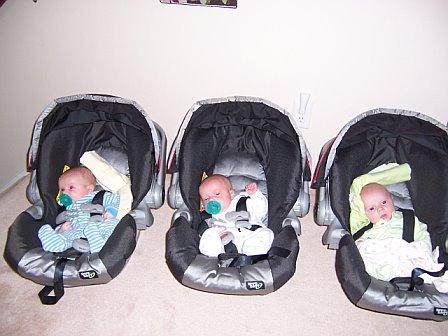 What to do when you are expecting triplets?