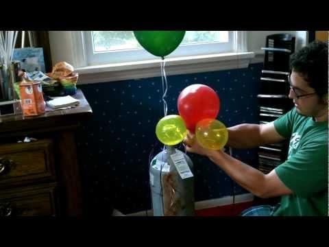 Can sucking helium from balloons cause any health problems?