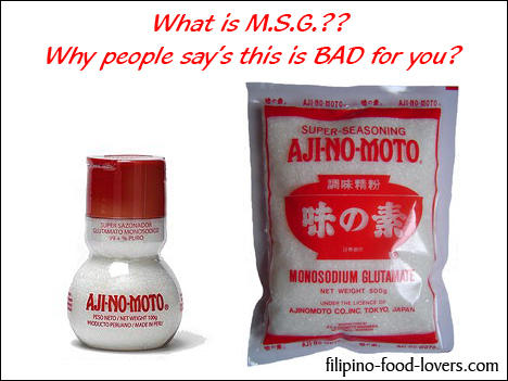 Why is msg bad for your health?