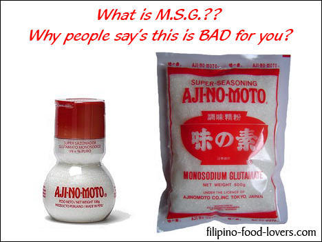 What are side effects of msg usually?