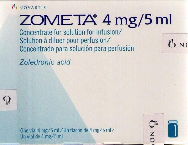What are side effects of zometa  ?