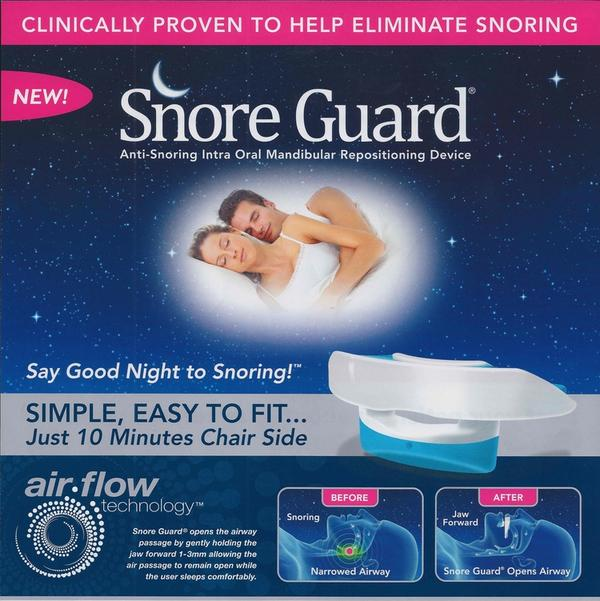 What can I get my boyfriend to stop him from snoring?