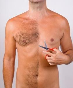 Can male also use saw palmetto to reduce body hair? Some other natural treatment to reduce male body hair?