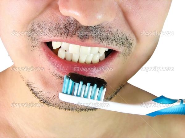 Is it normal to feel like gagging when brushing your teeth?