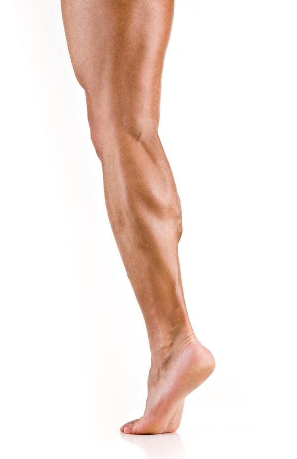 I get a hot feeling on my calf muscle off and on now i also feel it in my  thigh . What causes this?  Sitting and standing by the way.