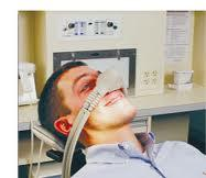 Is laughing gas used in periodontics?