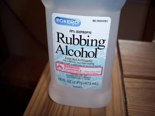 What happens if you sniffing rubbing alcohol 70%?