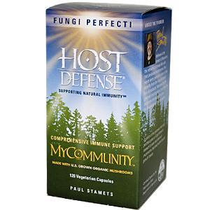 Are mushroom supplements, specifically, host defense my community, safe to take?