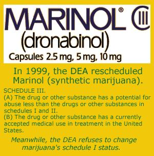 Cannabis is the only substance which has had a significant effect on my  tourettes with coprolalia. Would  marinol  be an appropriate treatment?