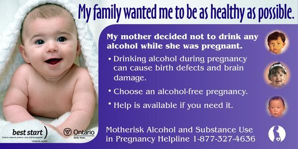 Im 7weeks pregnant when can I have a drink of alcohol?
