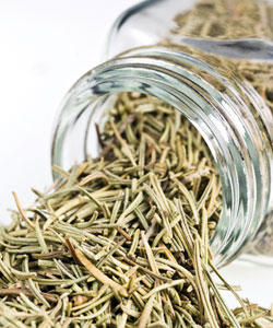 What are the medicinal effects of dried rosemary?